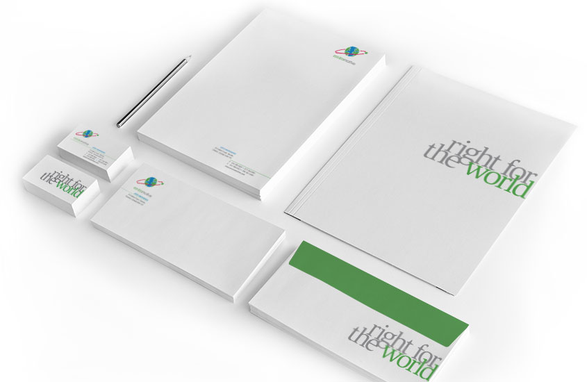 WHAT WE DO - Brand Identity and Stationary