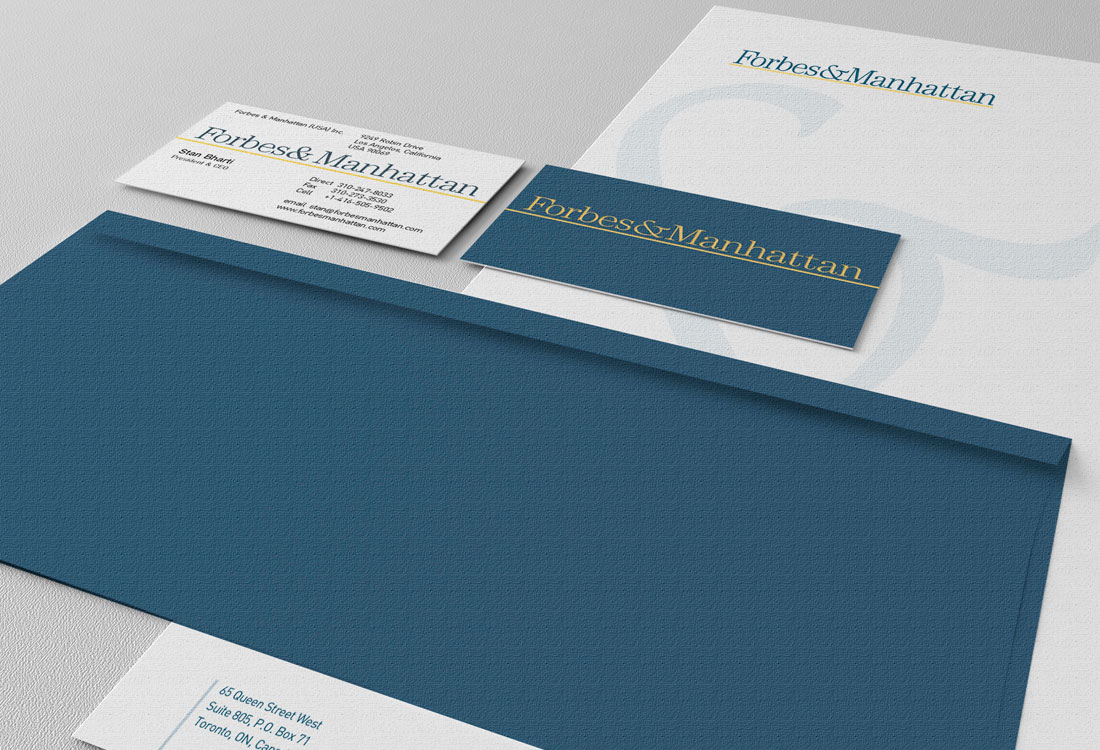 Forbes & Manhattan Stationery