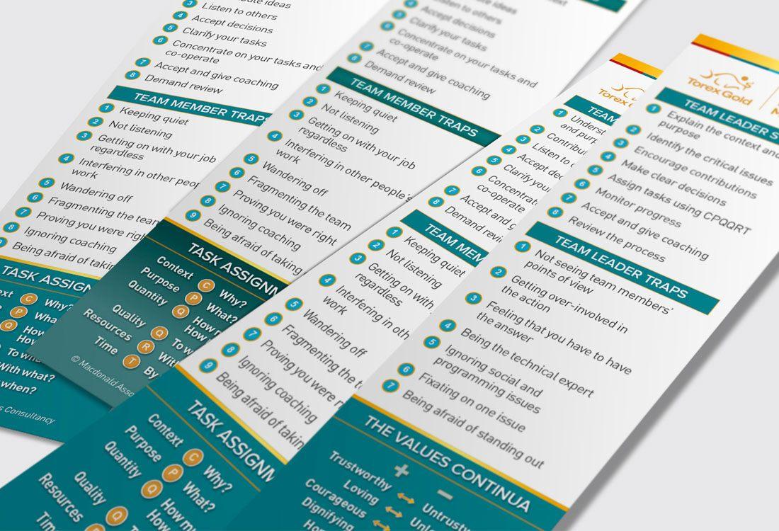 Torex Gold Bookmarks