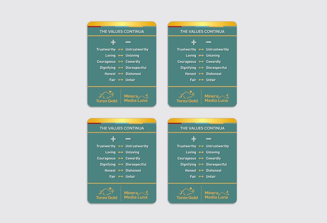 Torex Gold Stickers