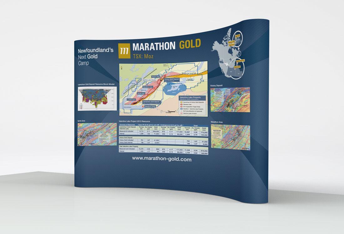 Marathon Tradeshow Booth