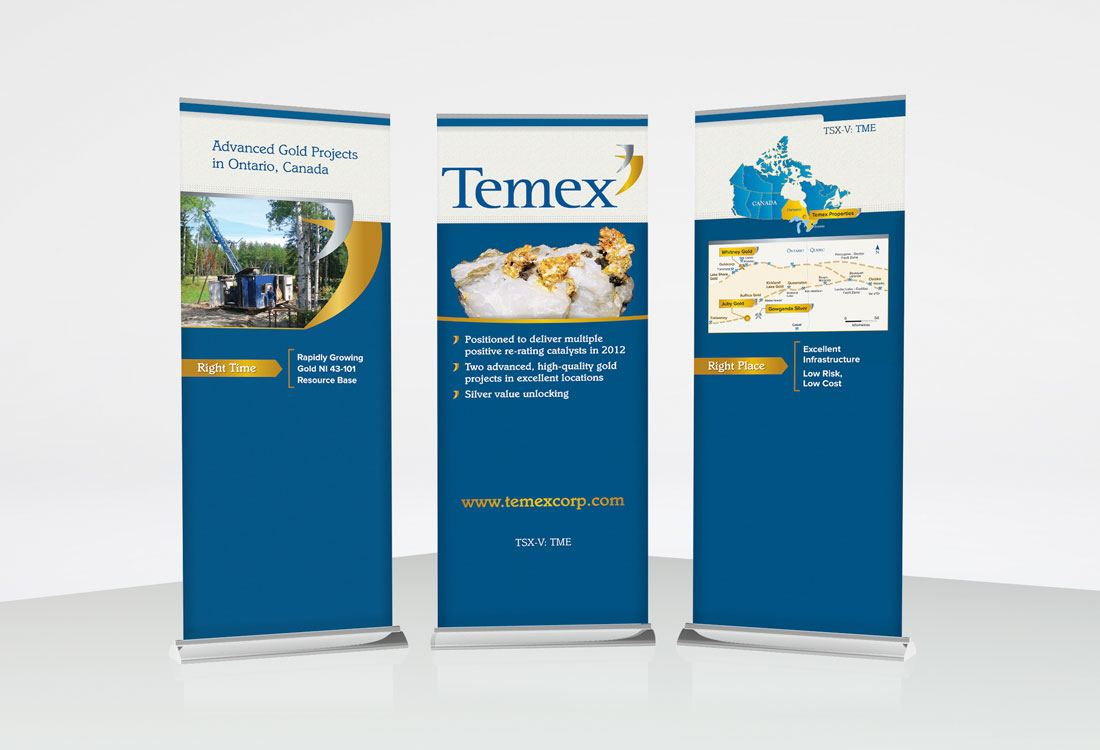 Temex Resources Tradeshow Banners