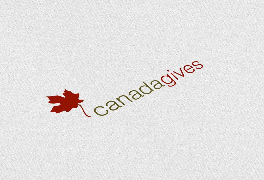 Canada Gives Logo