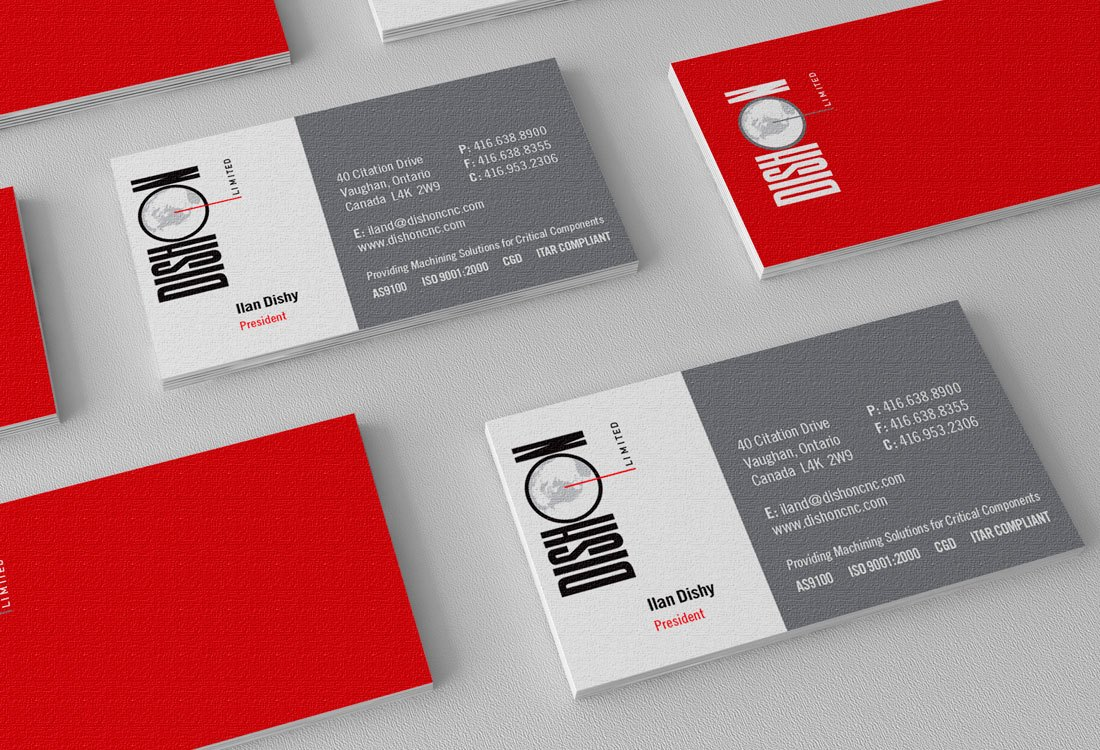 Dishon Logo and Stationery