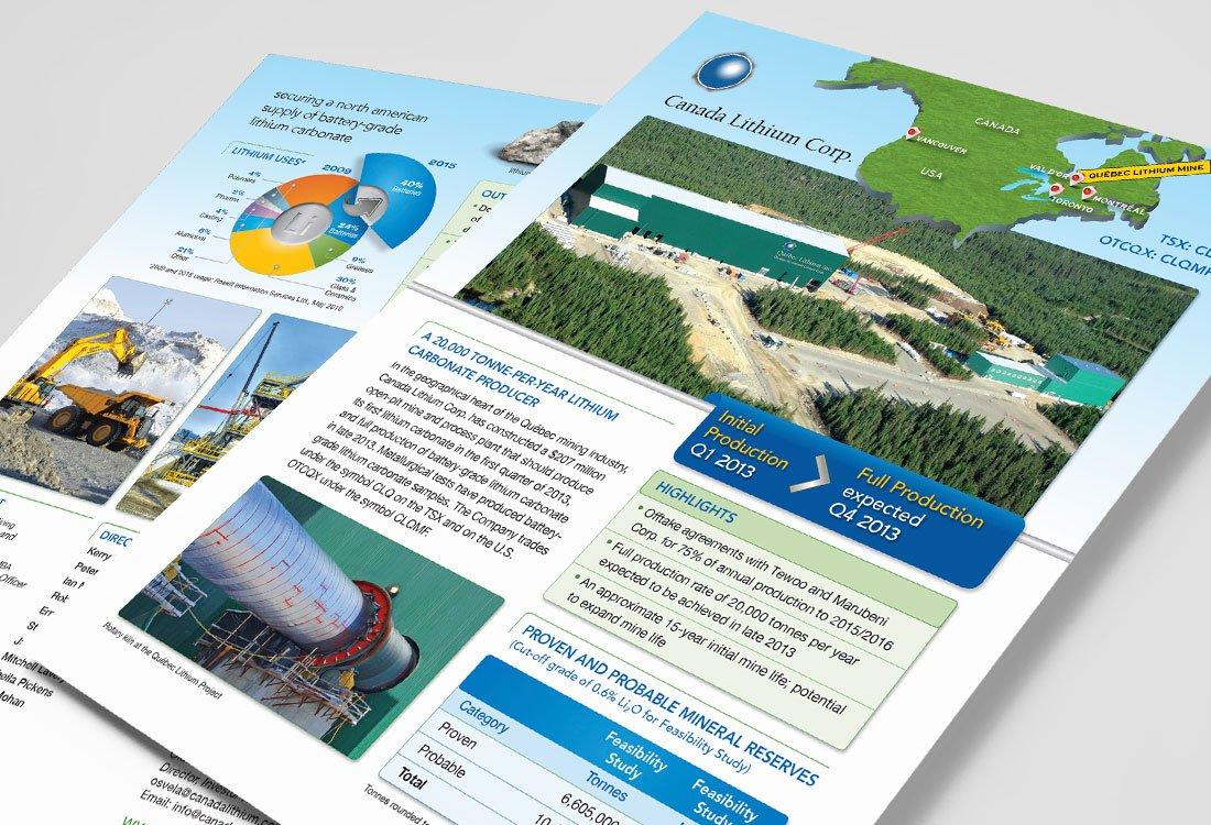 Canada Lithium Factsheet