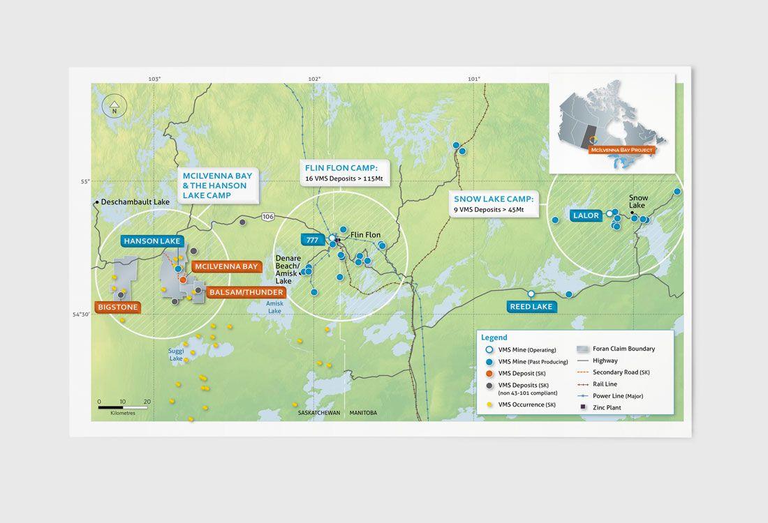 Foran Mining Map