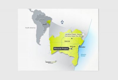 Largo Resources Map