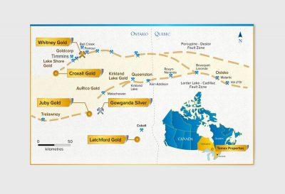 Temex Resources Map