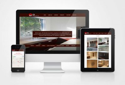 CB Marble Website