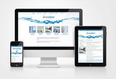 Dean Clean Website