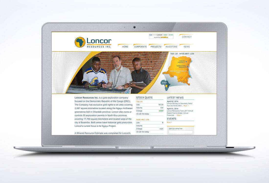 Loncor Resources Website