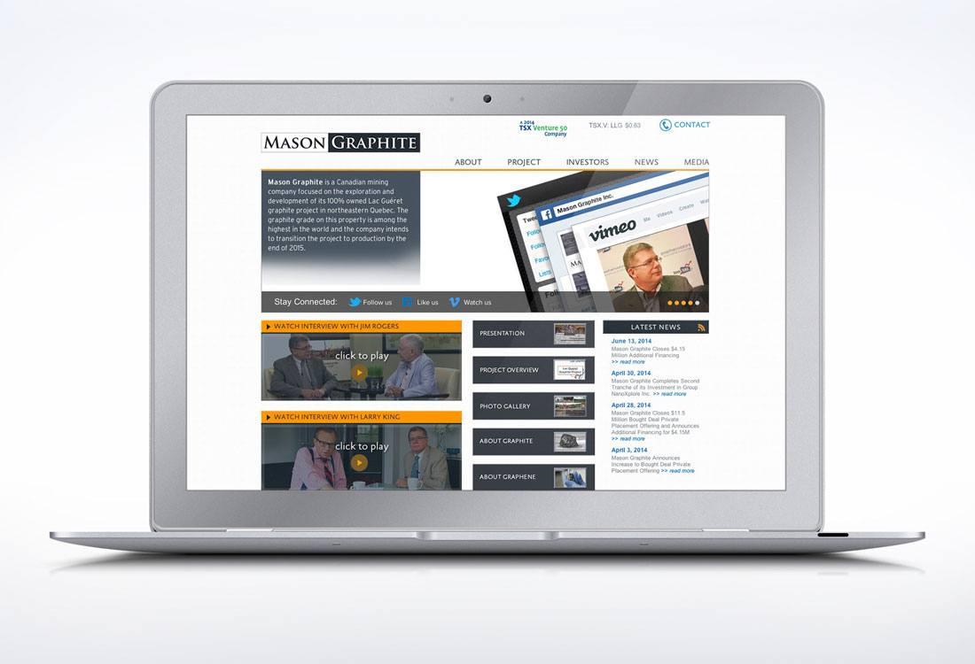 Mason Graphite Website