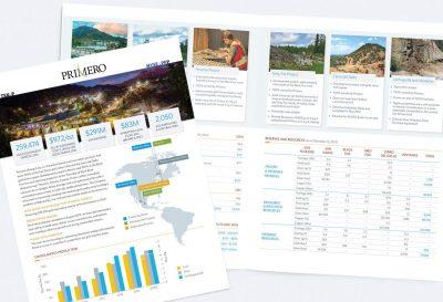 Primero Mining Investor Fact Sheet