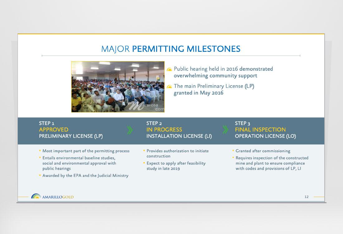 Amarillo Gold Investor Presentation slide 12
