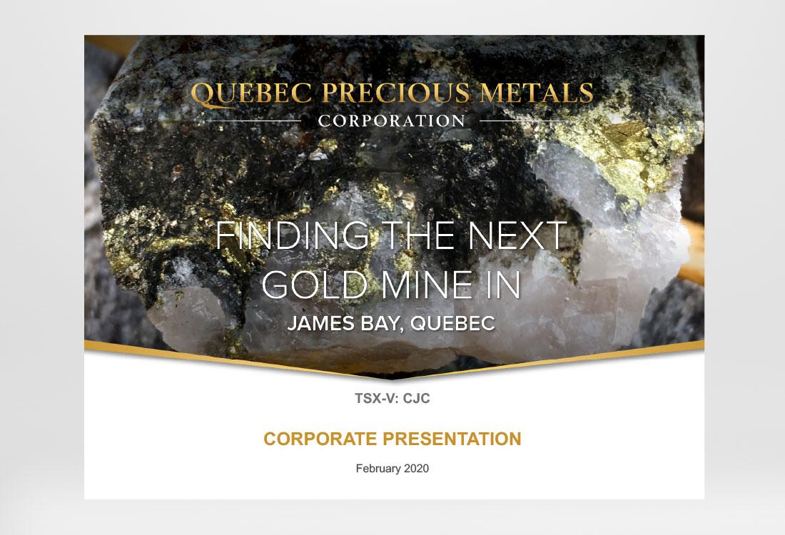 Quebec Precious Metals Presentation
