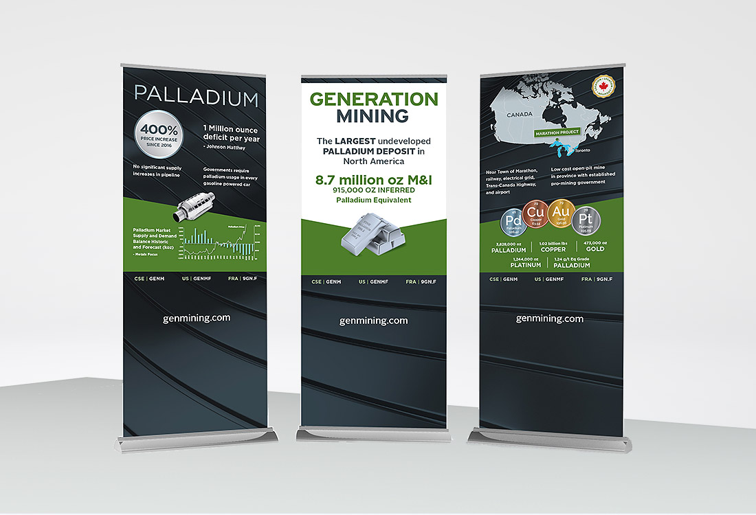Generation Mining Banners