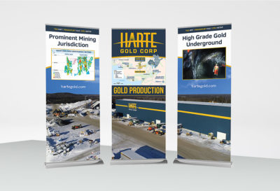 Harte Gold Corp Banners