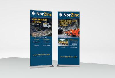 NorZinc bannerstands 2020