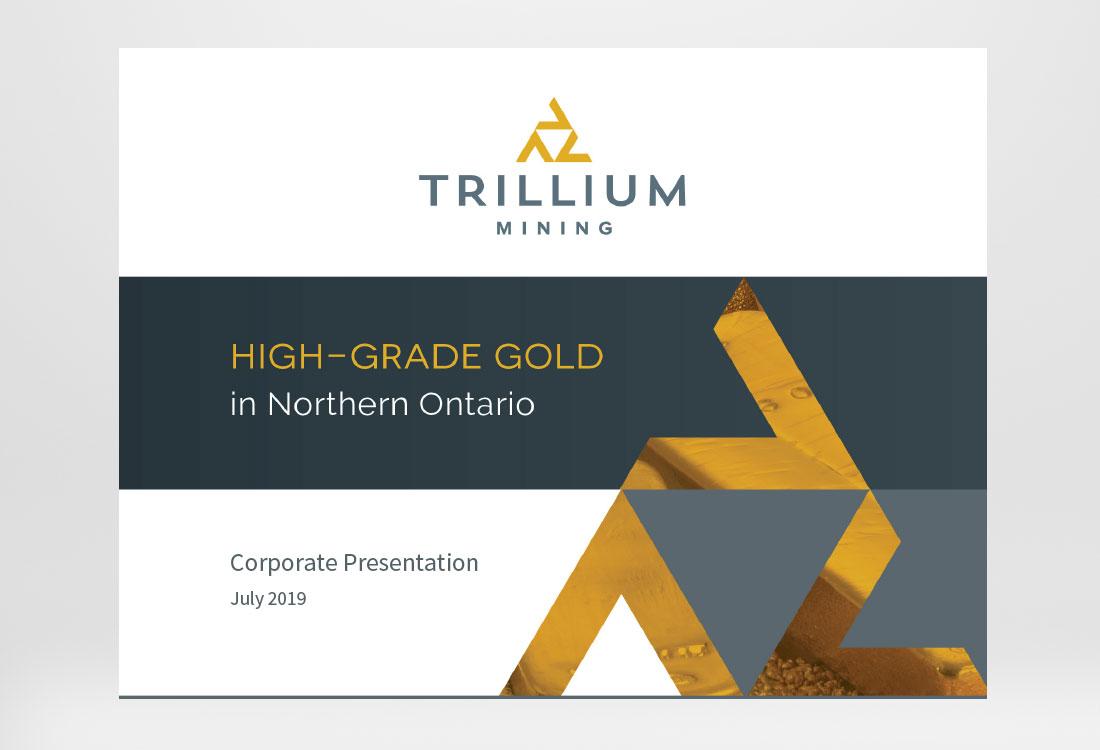 Trillium Mining Presentation