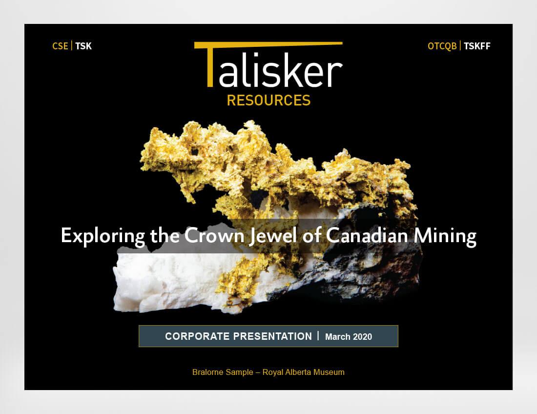 Talisker Resources Investor Presentation