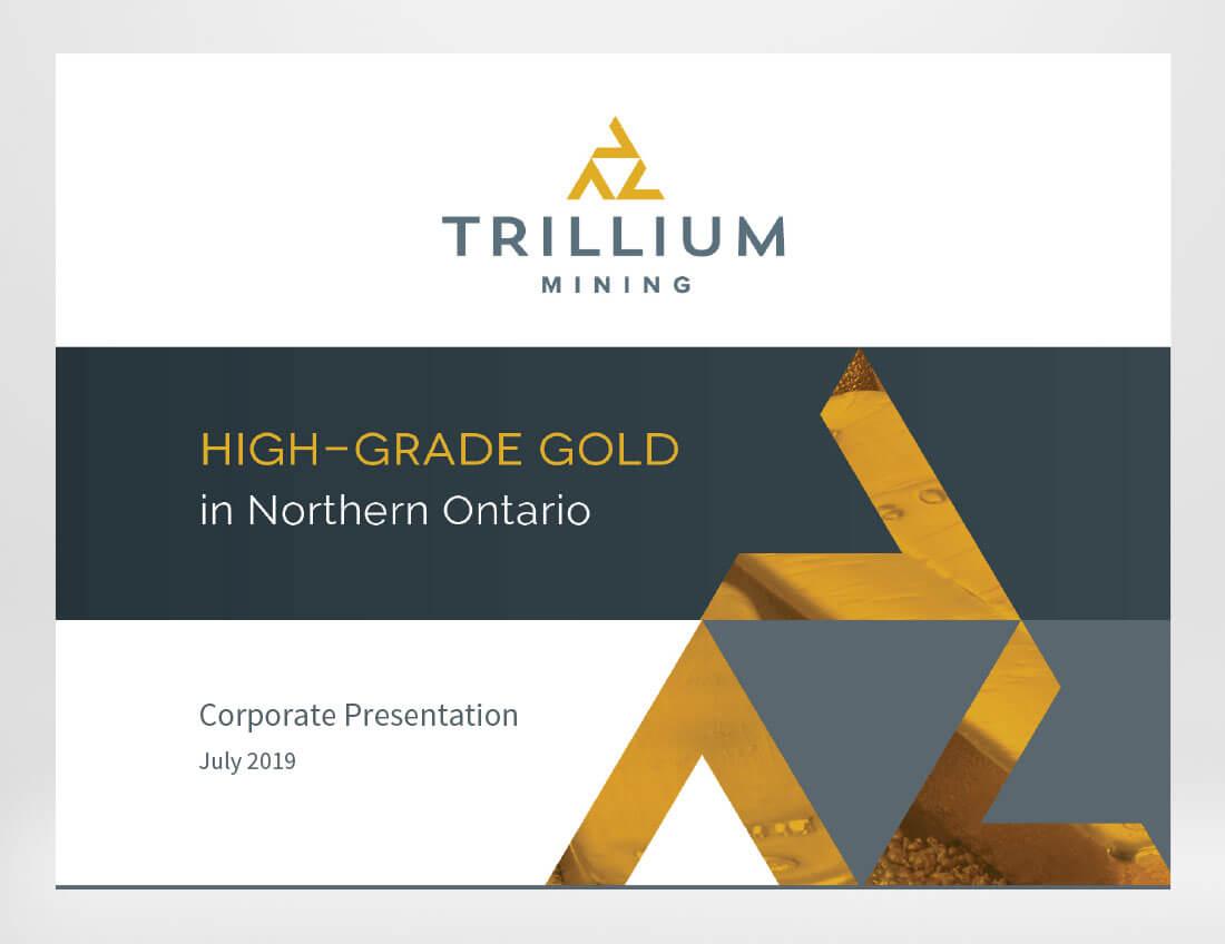 Trillium Mining Investor Presentation