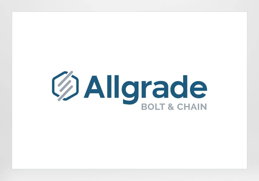 Allgrade Bold and Chain Logo