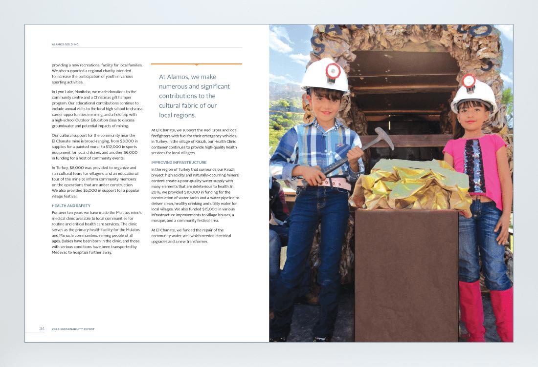 Alamos 2016 Sustainability Report Spread 2