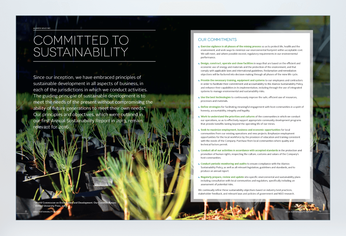 Alamos 2016 Sustainability Report Spread 3