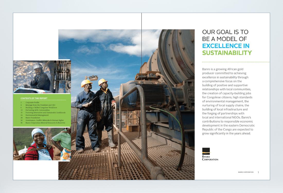 Banro 2016 Sustainability Report Spread 2